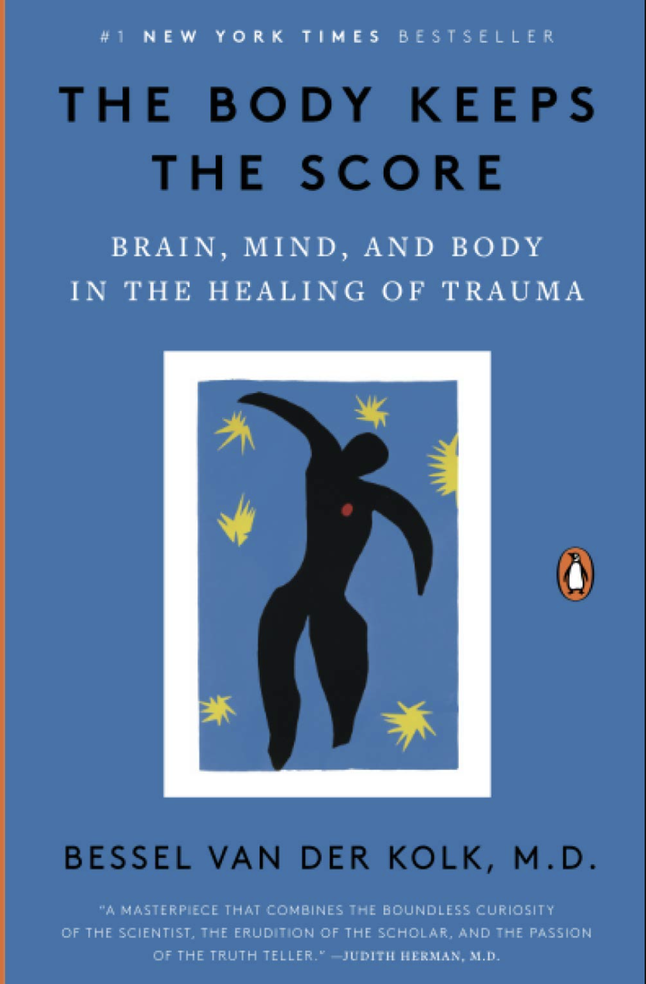 Book Cover: The Body Keeps the Score